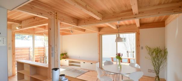 木箱の家は小さな家。そして私たち4人家族にぴったりの家。
