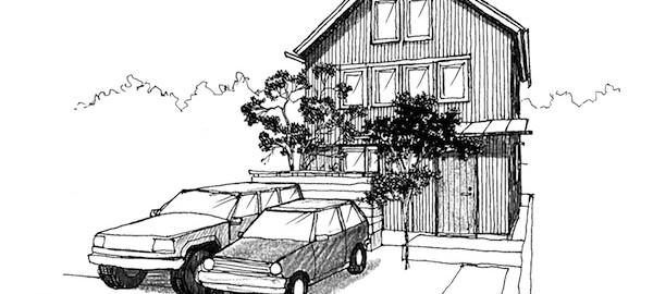 共西町の家